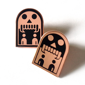 Phantomcode Enamel Badges